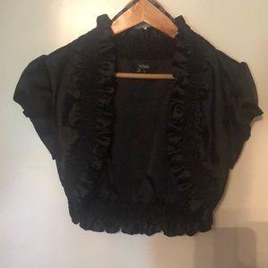 Black bolo jacket